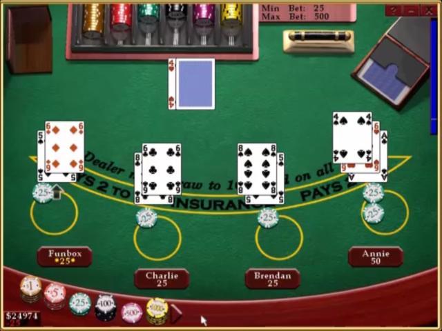 Casino Blackjack - title cover