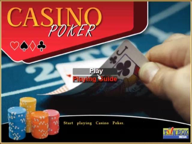 Casino Poker - game cover