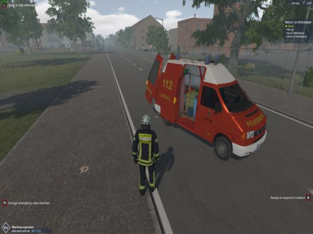 Emergency Call 112 - KEF - The minor operations vehicle - game cover