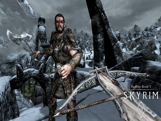 The Elder Scrolls V: Skyrim VR - title cover