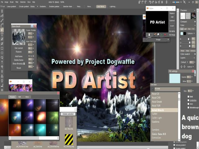 PD Artist 10 - title cover