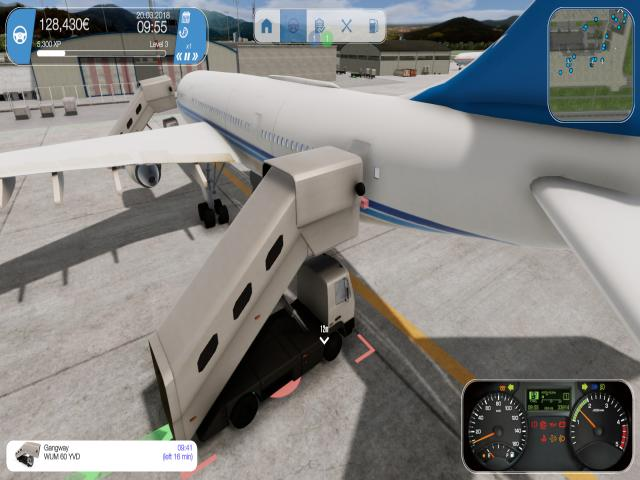 Airport Simulator 2018 - title cover