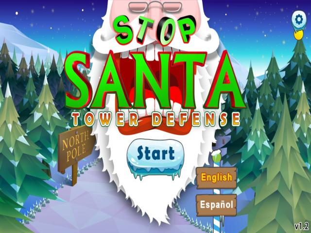 Stop Santa - Tower Defense - title cover