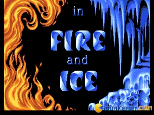 Fire and Ice - game cover