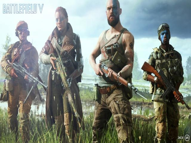 Battlefield V - title cover