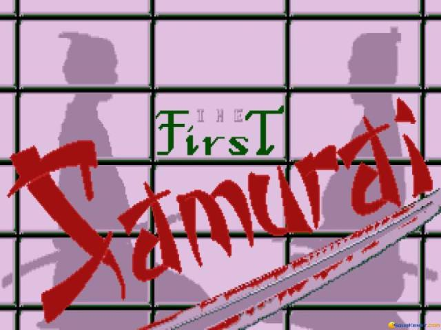 First Samurai - game cover