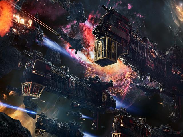 Battlefleet Gothic Armada 2 - title cover