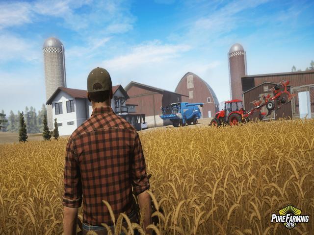 Pure Farming 2018 - Gomselmash Palesse CS-200 - game cover