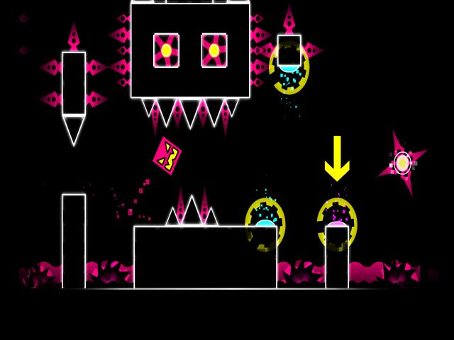 Geometry Dash - title cover