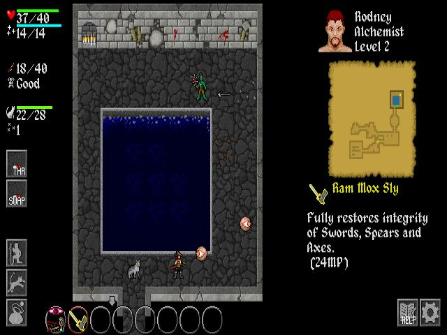 Ananias Roguelike - title cover