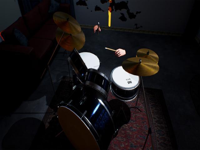 Garage Drummer VR - title cover