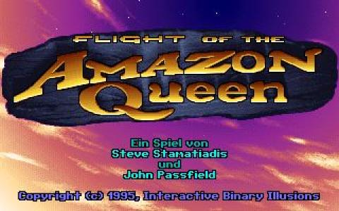 Flight of the Amazon Queen - game cover
