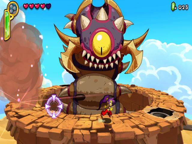 Shantae: Half-Genie Hero - title cover