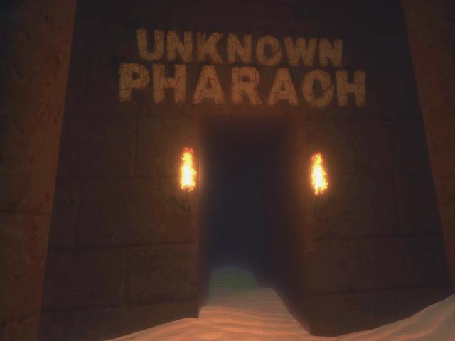 Unknown Pharaoh - title cover