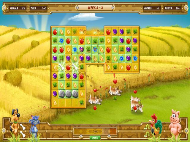 Farm Quest - title cover