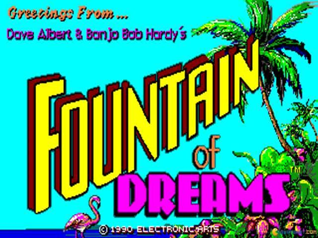 Fountain of Dreams - title cover