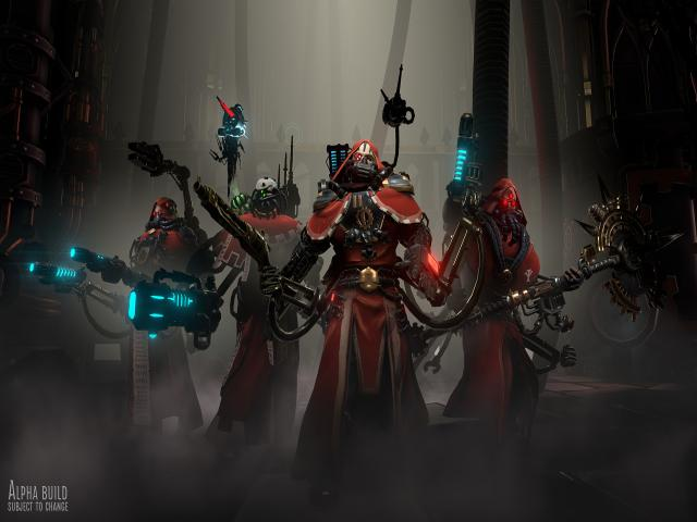 Warhammer 40,000: Mechanicus - title cover