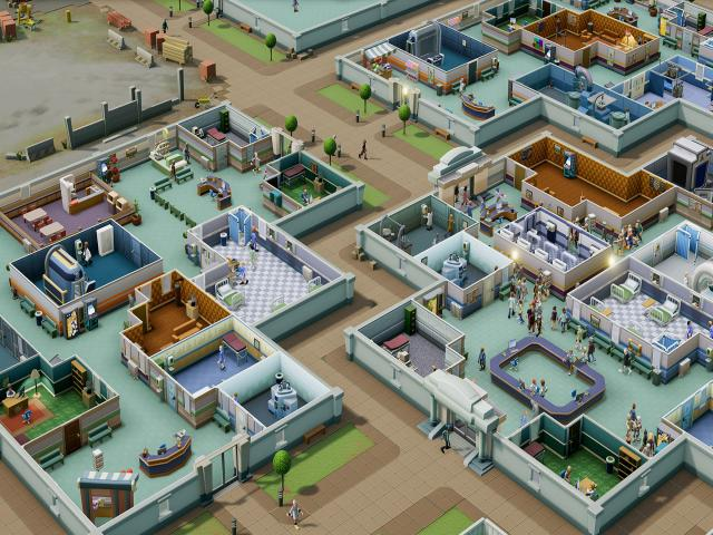 Two Point Hospital - title cover