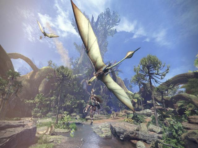 Monster Hunter World - game cover