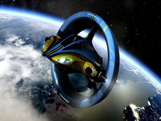 Orbital Racer - title cover