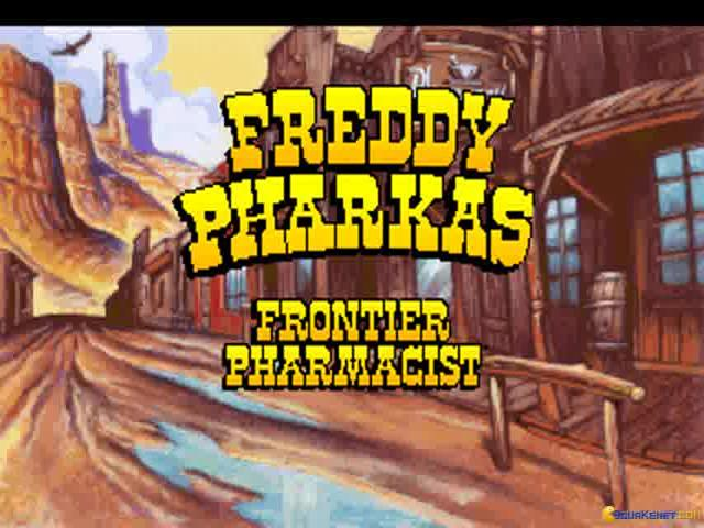 Freddy Pharkas: Frontier Pharmacist - title cover