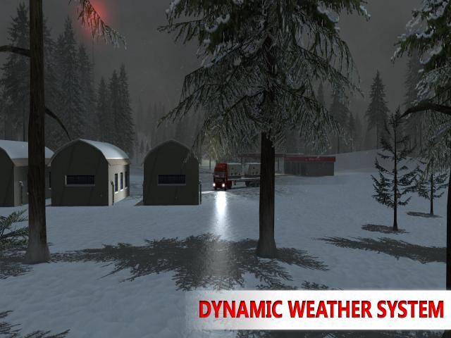Arctic Trucker Simulator - title cover