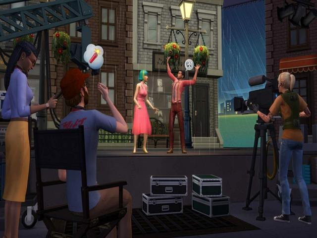 The Sims 4 Get Famous - title cover
