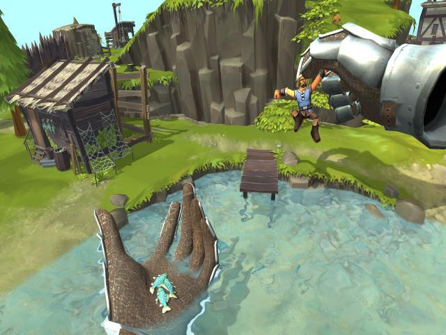 Townsmen VR - title cover