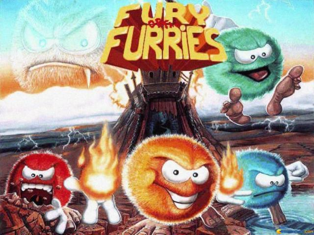 Fury of the Furries - title cover