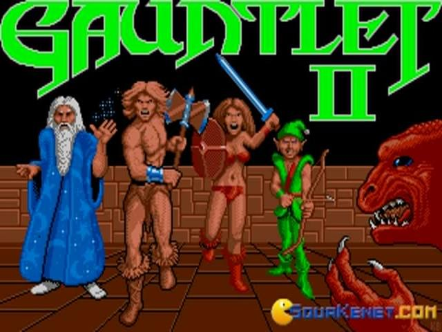 Gauntlet 2 - title cover