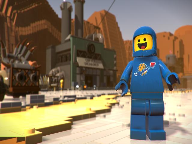 the lego movie 2 videogame - title cover