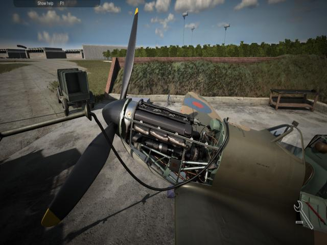 plane mechanic simulator - title cover