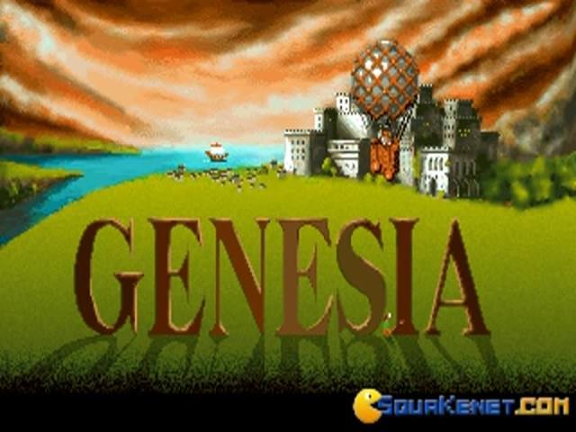 Genesia - title cover