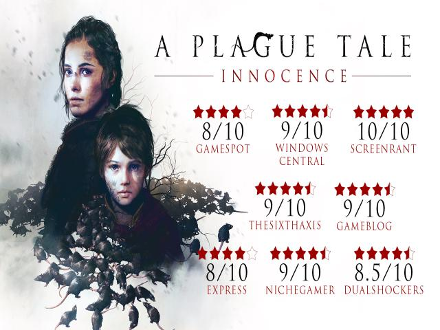 a plague tale: innocence - title cover