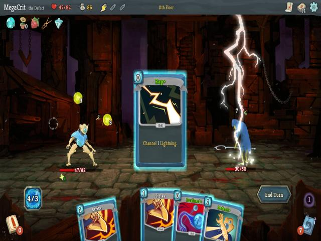 slay the spire - title cover