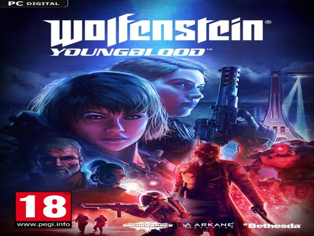 wolfenstein youngblood - title cover