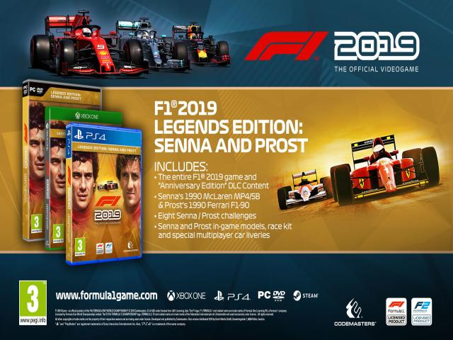 f1 2019 - title cover