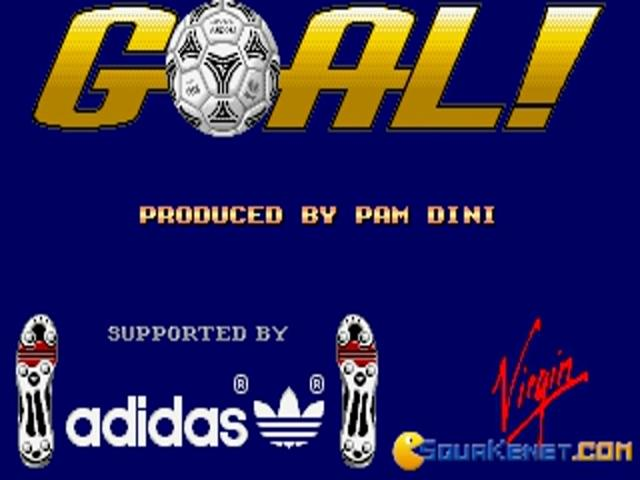 Goal! - game cover