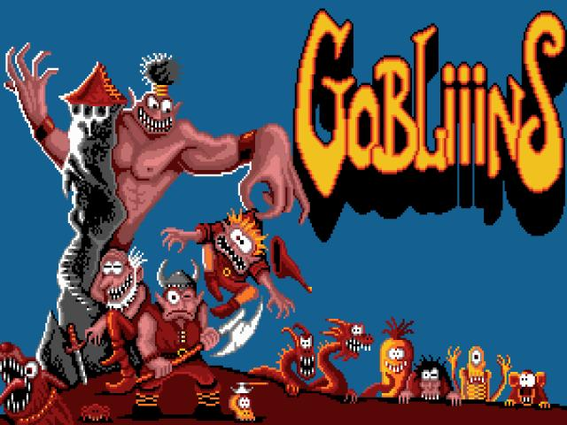 Gobliiins - game cover