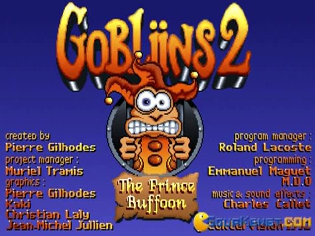 Gobliins 2 - game cover