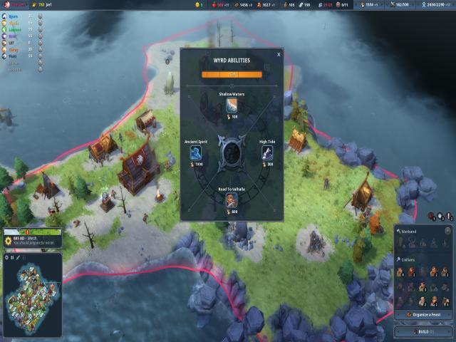 northgard - lyngbakr clan of the kraken - game cover