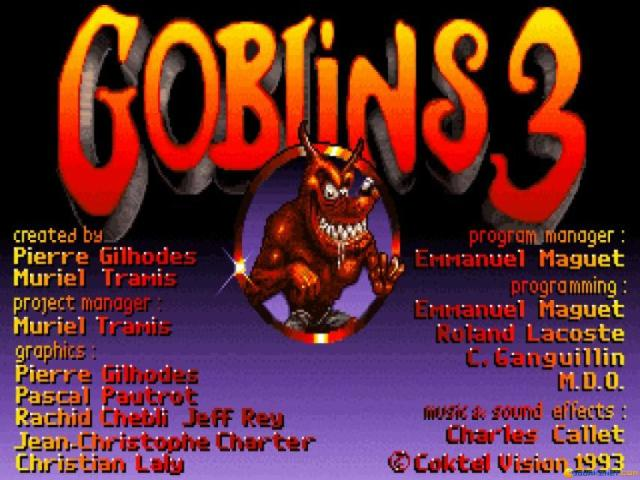 Goblins 3 - title cover