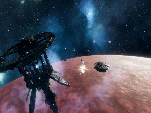 battlestar galactica deadlock: resurrection - game cover