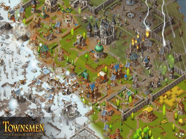 townsmen - a kingdom rebuilt - title cover