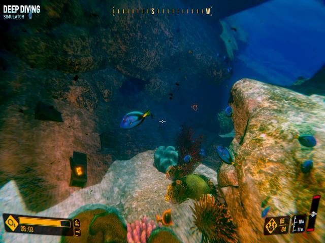 deep diving simulator - title cover