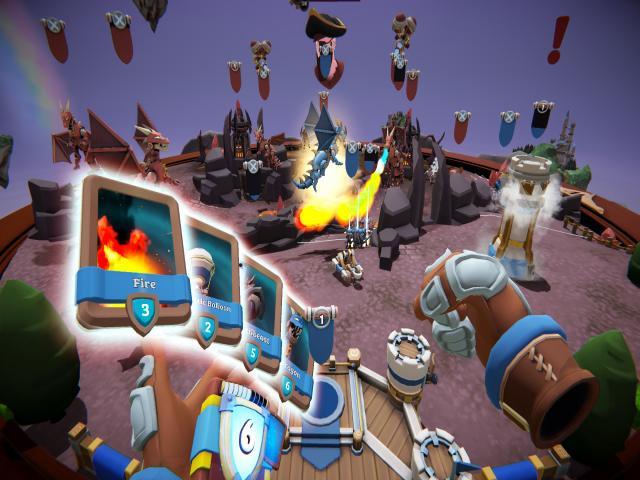 skyworld: kingdom brawl - title cover