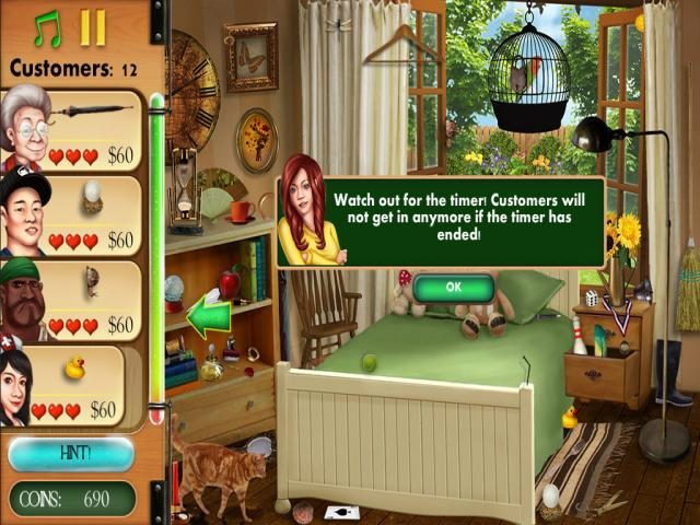 hidden object: home makeover - title cover