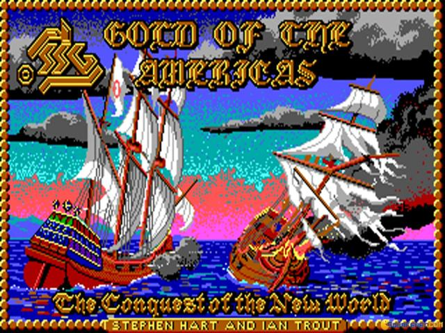 Gold of the Americas - title cover