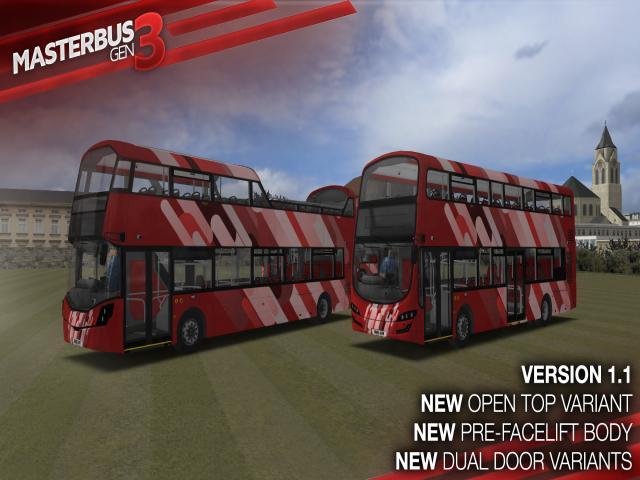 omsi 2 masterbus gen 3 pack - game cover