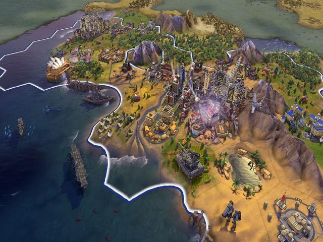 sid meiers civilization vi platinum - game cover